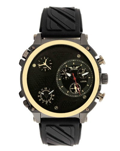 J788 GOLD_BLACK RUBBER